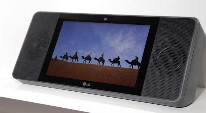 LG ThinQ View WK9 — первое устройство в классе умных домашних дисплеев с Google Assistant