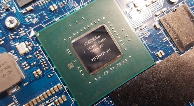 Мобильный GPU GeForce GTX 1050 Ti Max-Q  готовит NVIDIA