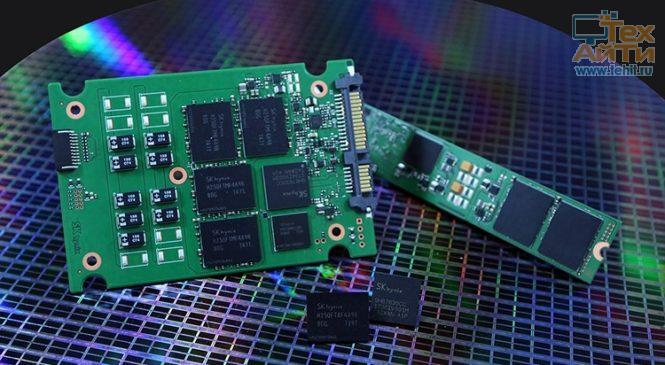 eSSD на 72-слойных чипах 3D NAND от SK Hynix