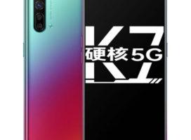 Анонсирован 5G-смартфон OPPO K7: квадрокамера, Snapdragon 765G и 38-Вт зарядка дешевле $300