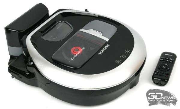 Обзор робота-пылесоса Samsung POWERbot VR20R7260WC: самоочищающийся и послушный