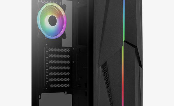 Корпус Aerocool Mecha ARGB предлагает 15 режимов работы подсветки