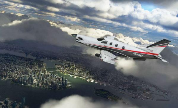 Коробочная версия Microsoft Flight Simulator выйдет на 10 DVD-дисках