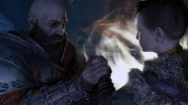 Взглянуть на мир чужими глазами: моддер показал несколько сцен из God of War (2018) с видом от первого лица