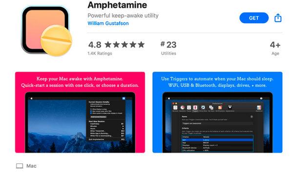 Apple хотела удалить приложение Amphetamine из App Store за его название, но передумала