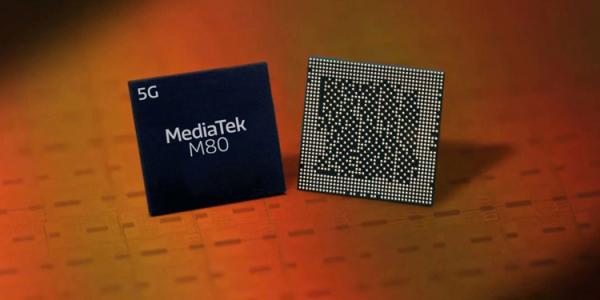 5G-модем MediaTek M80 позволяет загружать данные со скоростью до 7,67 Гбит/с