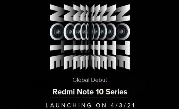 В серию Xiaomi Redmi Note 10 войдут три смартфона, включая модель со 108-Мп камерой