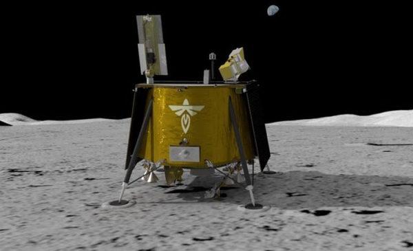 NASA поручило доставку почти 100 кг груза на Луну начинающей компании Firefly Aerospace