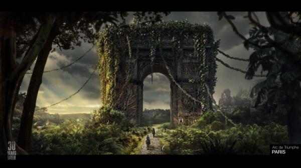 Москва, Припять и постаревшая Элли: художница изобразила вселенную The Last of Us спустя 30 лет после событий второй части
