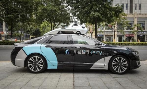 Китайская компания Pony.ai получила разрешение на тестирование беспилотных автомобилей в Калифорнии