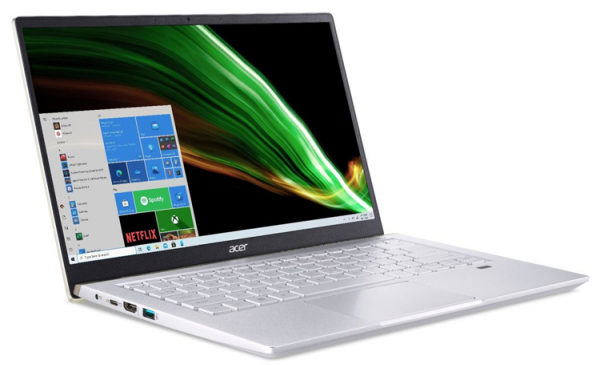Acer готовит ноутбук Swift X с чипом AMD Ryzen 5000U и графикой NVIDIA