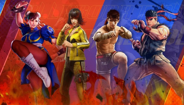 В мобильной королевской битве Free Fire пройдёт кроссовер с файтингом Street Fighter V