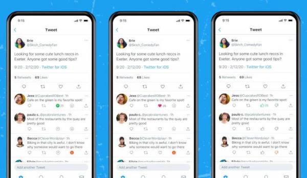 В Twitter начали тестировать дизлайки