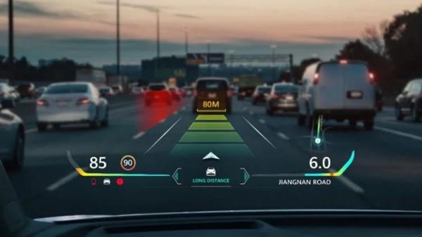 Huawei представила цветной проекционный дисплей для водителей с функцией дополненной реальности