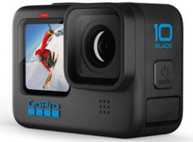 GoPro представила флагманскую экшен-камеру Hero 10 Black за 50 тыс. рублей