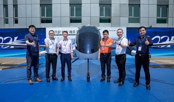 Региональное двухместное аэротакси VT-30 компании EHang представлено официально