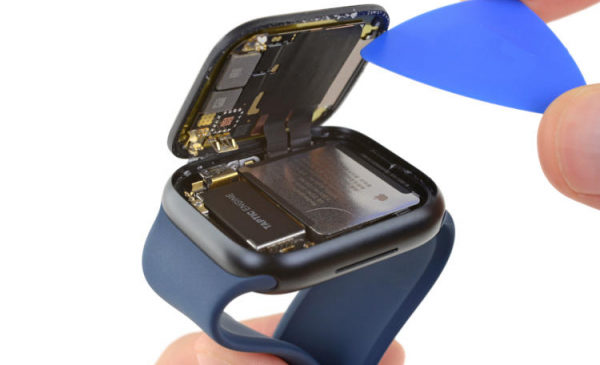 Специалисты iFixit разобрали Apple Watch Series 7